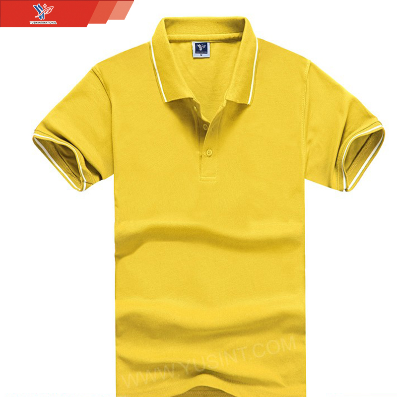 knitted garment fashion 95 cotton 5 elastane polo shirt specification