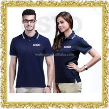 OEM contrast sleeve collar classic fit advertised polo work clothes cheap dry fit polo shirt