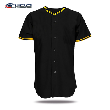 custom high quality blank black baseball jersey,dodgers baseball jersey