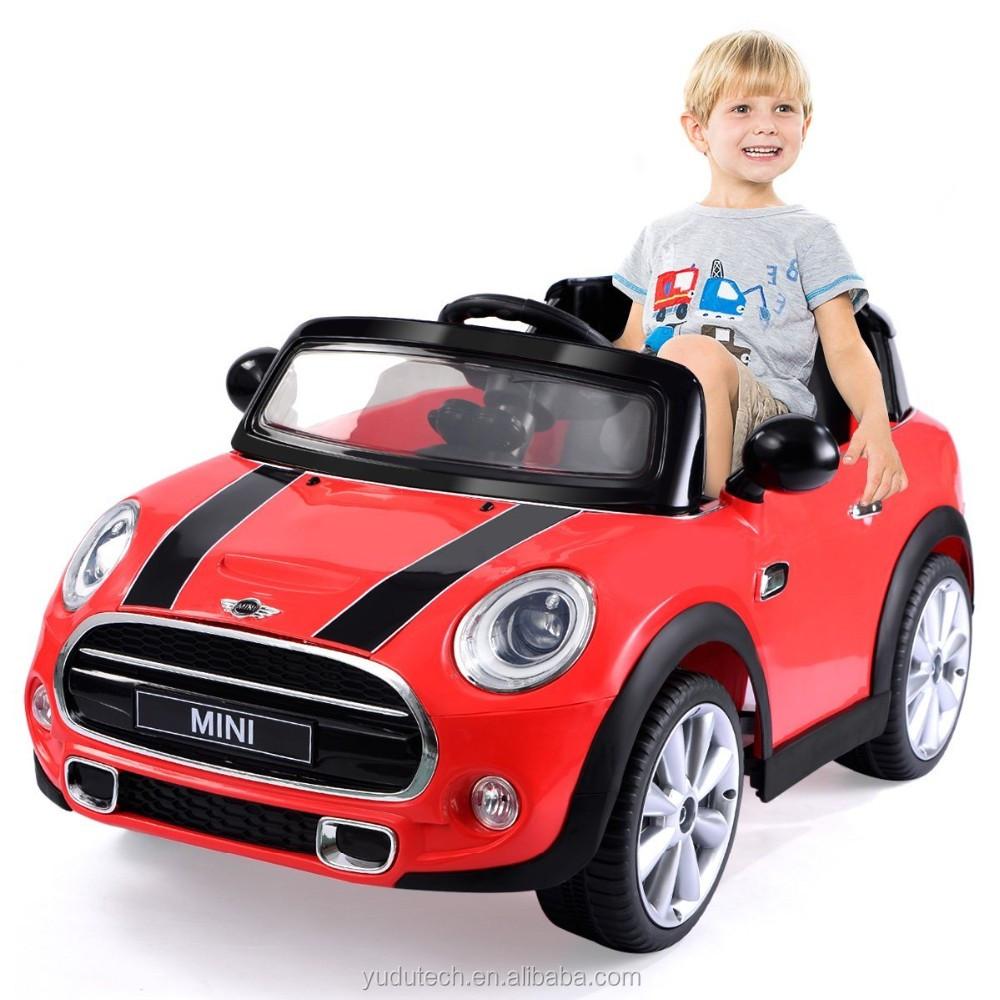 Kulaber Red Bmww Mini Cooper 12v Electric Kids Licensed