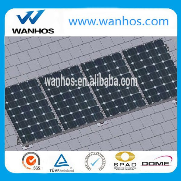 Solar Shingle Roof Mounting for Solar Mounting System, composition shingle