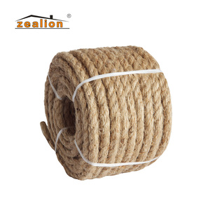 Custom factory price 5 mm jute rope 6mm hemp rope