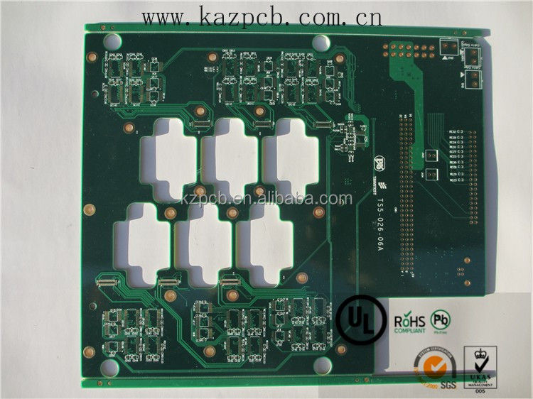 4 Layer hoverboard with samsung battery 94v0 pcb board Electric guitars or Electronic organ printed circuit board manufacturer