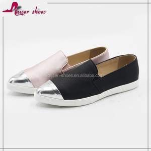 KAS16-431 2016 fashion women shoes ladies casuals shoes with good quality pu factory over stock sheos