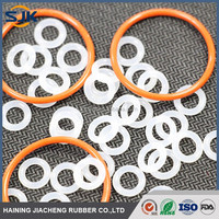 Top grade top sell thin AS568 rubber o ring silicone seals silicone o-ring