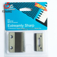 professional clipper blade factory offer all kinds of stainless steel hair clipper blade sharing blade