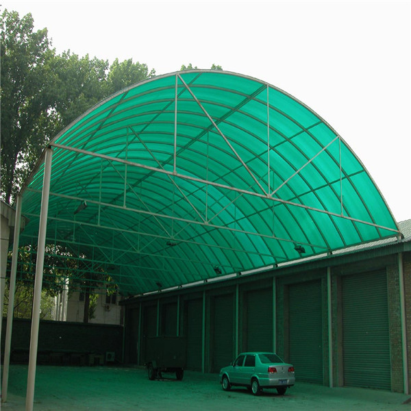 Transparent Thermal Insulation Plastic Roofing Sheet For
