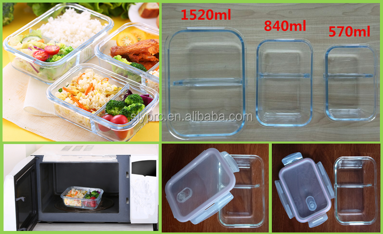 pyrex glass bento box with partition buy pyrex glass bento box glass food container glass food. Black Bedroom Furniture Sets. Home Design Ideas