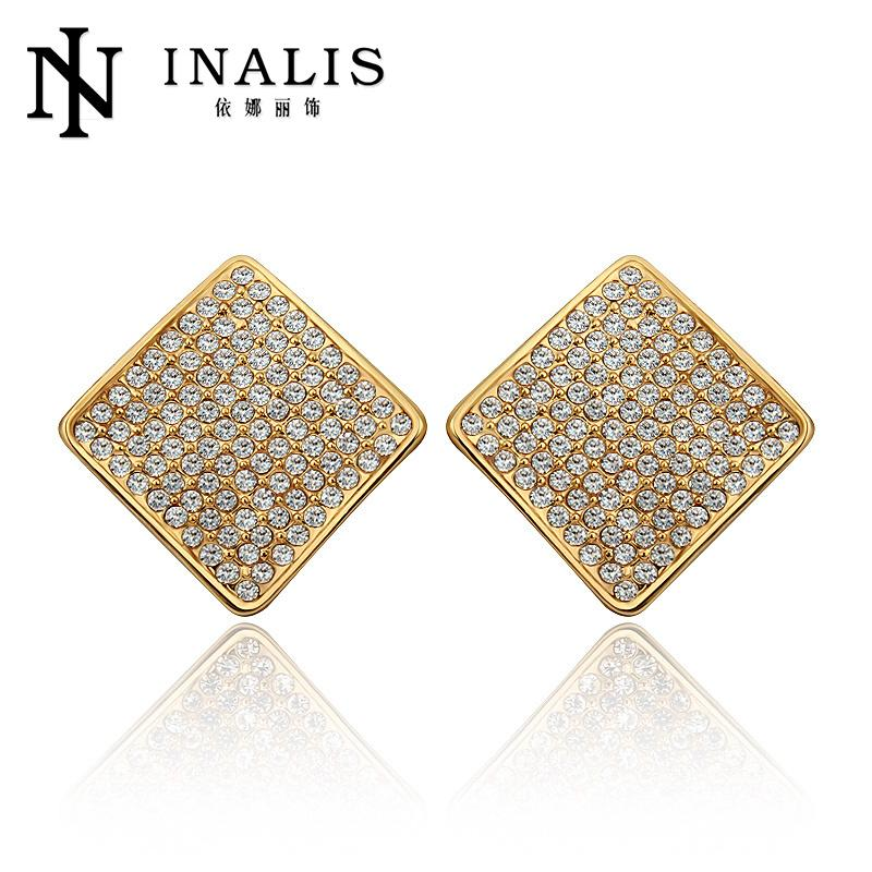 Attractive Handmade Square Tanishq Earrings Designs E828 - Buy ...