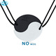 Simple design Chinese style Tai Chi Yin Yang lava stone pendant necklace for friends