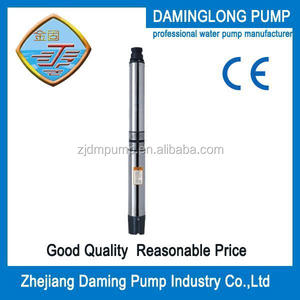 NEMA series well submersible motor 5inch/130QJ8 stainless steel submersible deep well water pump