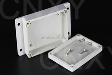 ip65 clear electronic housing enclosure plastic box wall mount with flange