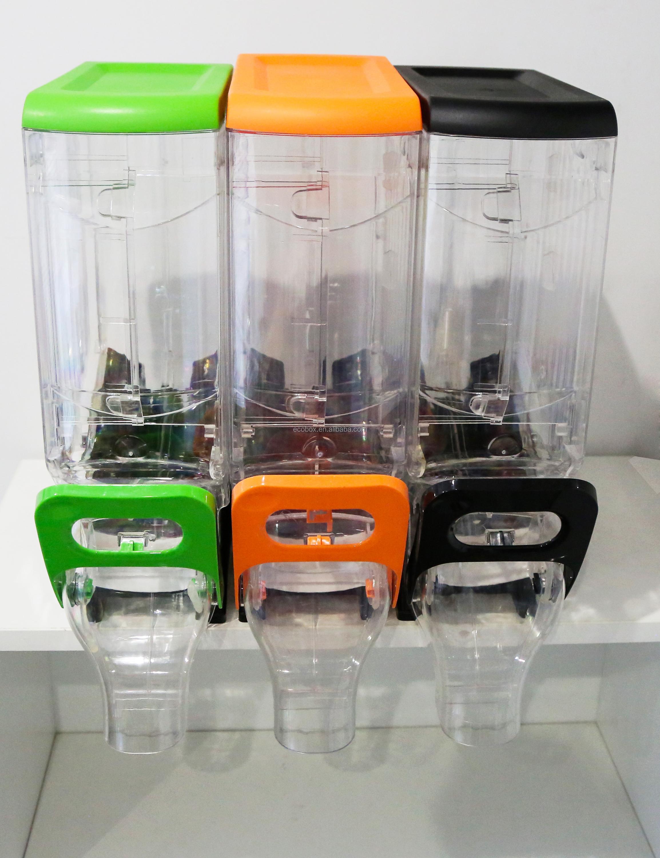 Gravity Feed Bins Bulk Food Dispenser System With Handle And Hook - Buy  Bulk Food Dispenser,Gravity Bins,Dry Food Dispenser Product on Alibaba com