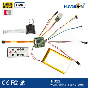 HD 1080 PIR Thermal Sensitive DIY Security Camera Module 1080P camera boards