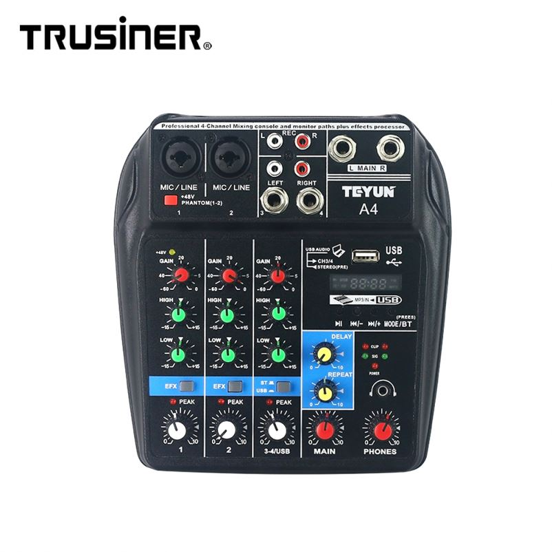Manufacturer Mixer For Dslr Vintage Audio Console Live Sound - Buy Vintage  Audio Console,Audio Mixer For Dslr,Audio Mixer Live Sound Product on