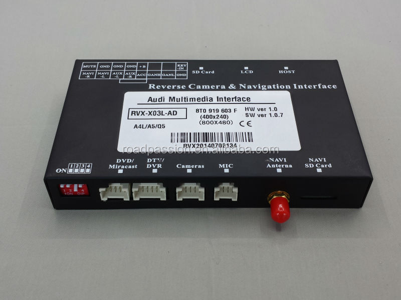 High Quality Multimedia Interface Ami Ipod For Audi A4 A5