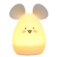 3 AAA Batteries Operated Mouse Nite Lite 9 Selectable Led Color Night Lights Silicone Stays Cool to The Touch Animal Lamp