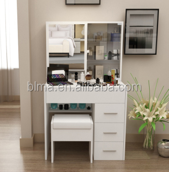Simple Modern Wooden Dressing Table Designs For Bedroom Panel
