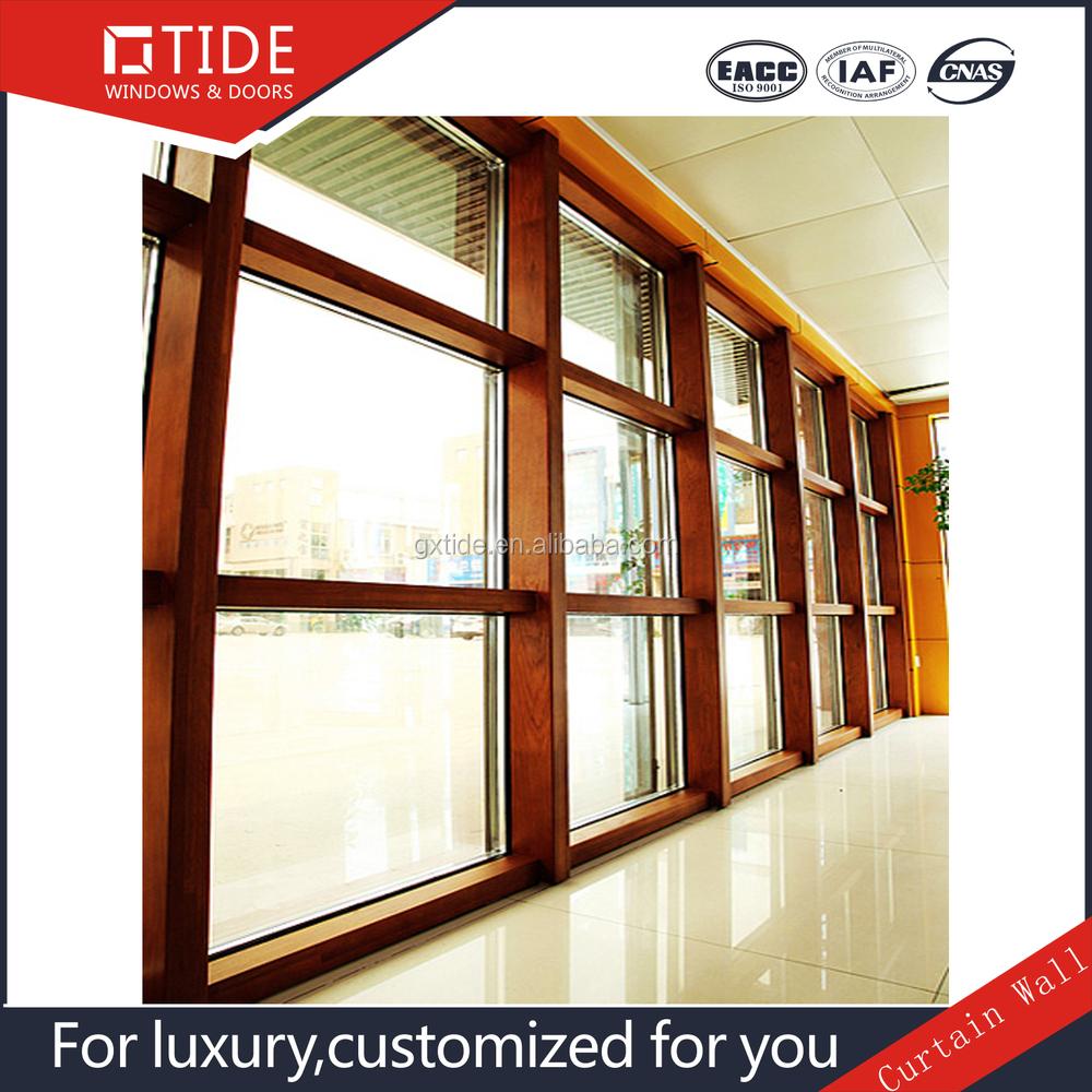 Aluminum Curtain Wall Windows : Wood aluminum curtain wall menzilperde