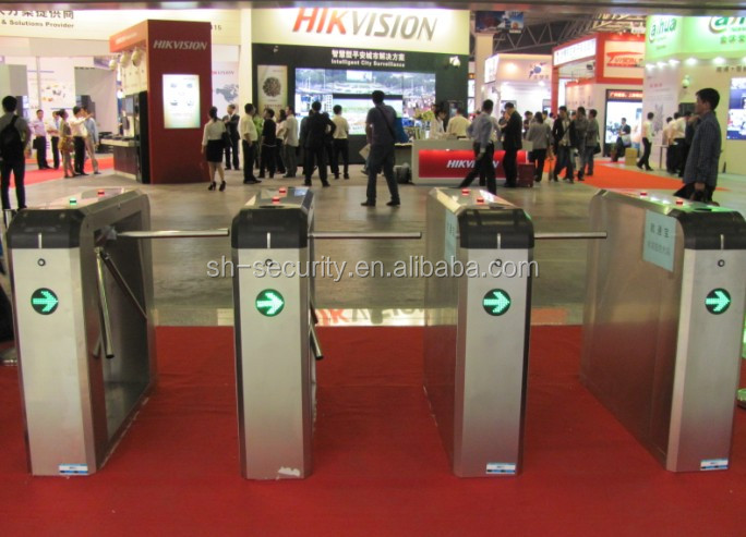 Deluxe Subway Tripod turnstile for Access control solution