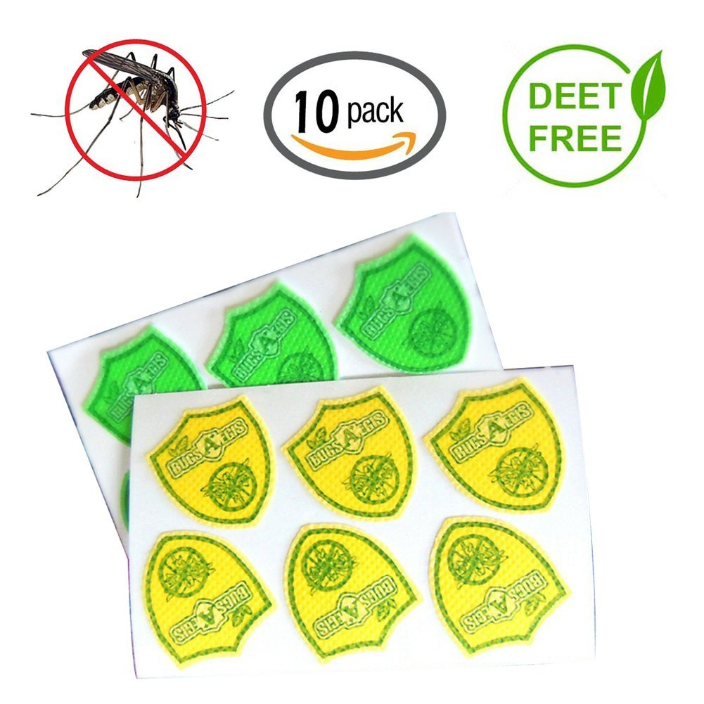 S-WEKA Mosquito Repellent Patch 60 Count Keeps Insects and Bugs Far Away, Simply Apply to Skin and Clothes , Adult, Kid and Pet-Friendly , Convenient For Travel, Outdoor Concerts and Camping