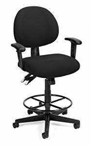 OFM 241-AA-DK 24 Hour Ergonomic Computer Task Chair with Arms and Drafting Kit