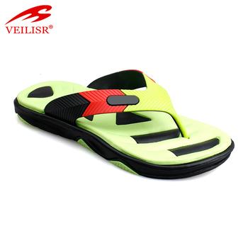 ff9fd0751399 New Models Street Fashion Flat Pvc Footwear Men Beach Flip Flops ...