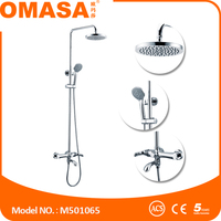 Faucets made china rain shower set for bathroom