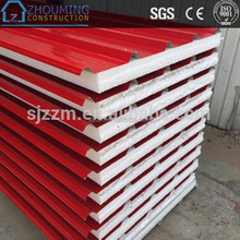 PUR sandwich board,PIR Sandwich Panels Type and Nonmetal Panel Material osb eps sandwich wall panel