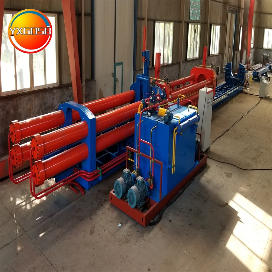 Cold and Hot Induction Pipe Bending Machine