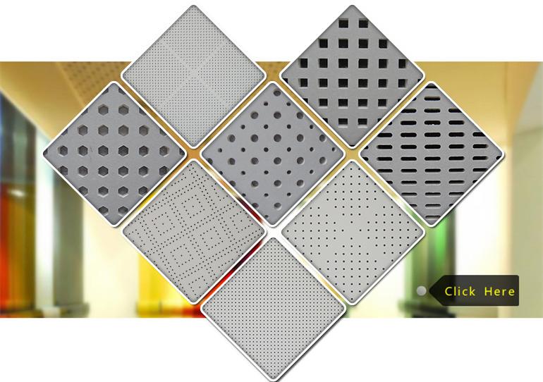 Perforated particle board metal false ceiling buy