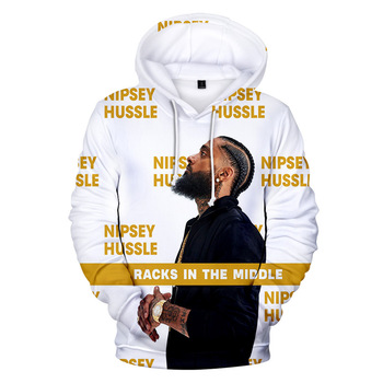 2019 Hot New designs America rap singer Nipsey Hussle hoodies