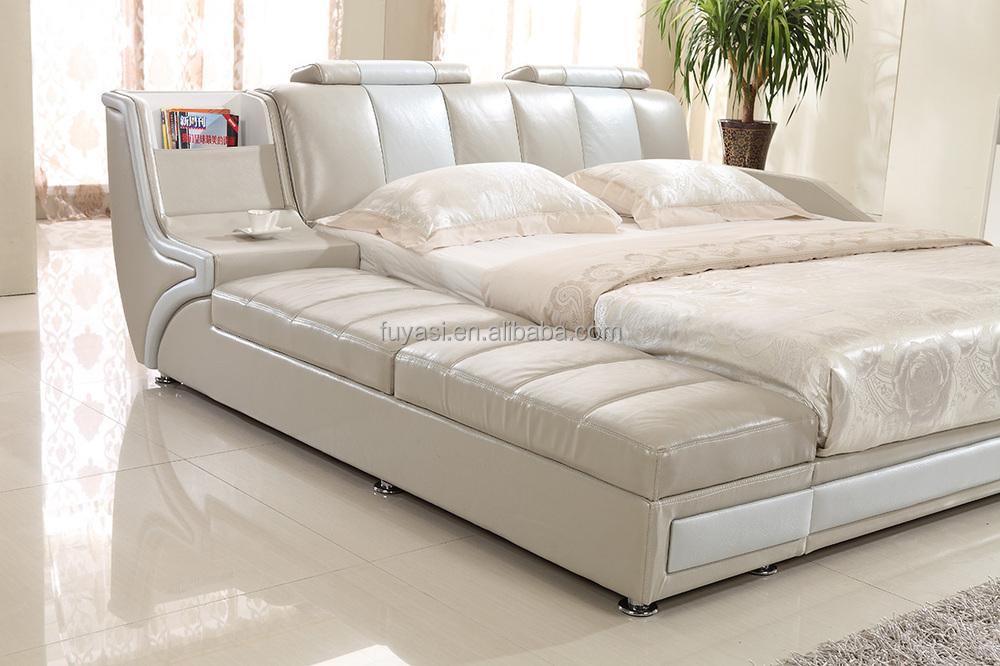 China Muebles De Dormitorio King Size Cama Mesita De Noche Mesita ...