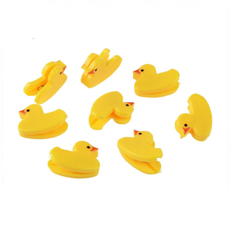Fine appearance elephant shaped cute duck money animals plastic clip