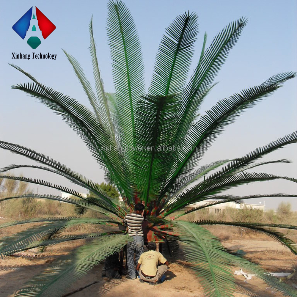 Long Life STC Supplier Artificial Palm Tree Leaves for Monopole Steel Tower