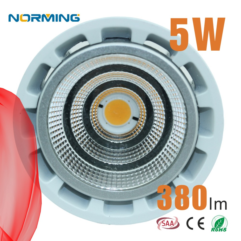 MR16 12V 5W spotlights COB LED energy saving spot light bulbs