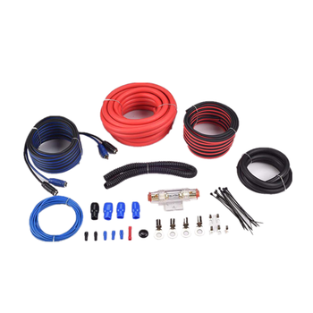 jld audio High quality 4 GA amplifier wiring kits for car subwoofer from jiaxing