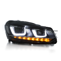 Vland factory car headlights for Golf mk6 2008-2013 LED head lights for Golf 6 front light with plug and play