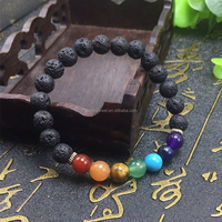 x power bracelet 7 chakra bead bracelet buddha bracelet for women and men