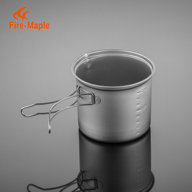 FireMaple Titanium Eco friendly Camping Hiking Outdoor Cookware