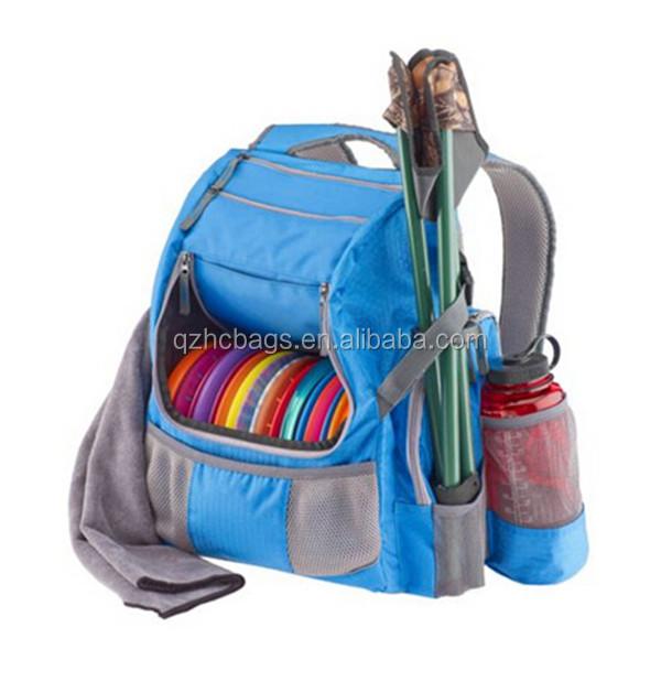 Outdoor Sport Custom Disc Bag Golf Backpack