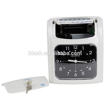 Portable Date Time Stamp Bundy Clock Attendance System View Portable Date Time Stamp Aibao Product Details From Guangzhou Heshi Office Equipment