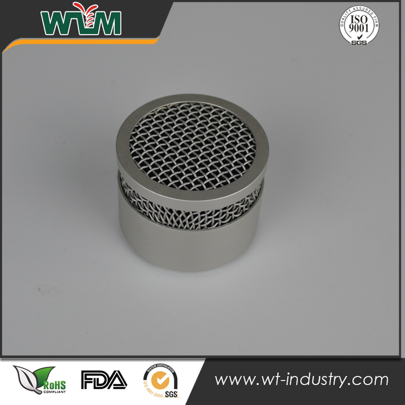 high class microphone screen head part production factory