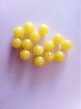 2015 2000rounds 0.68 yellow paintball for training