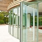 Glass Exterior Doors Single Double Laminated All Glass Exterior Doors Sound Proof Tempered Glass Exterior Folding Doors