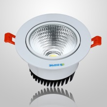 Best High Quality AC100-240V 375LM 2.5Inch COB Chip 5W Dimmable LED Downlight Warm White at Good Price