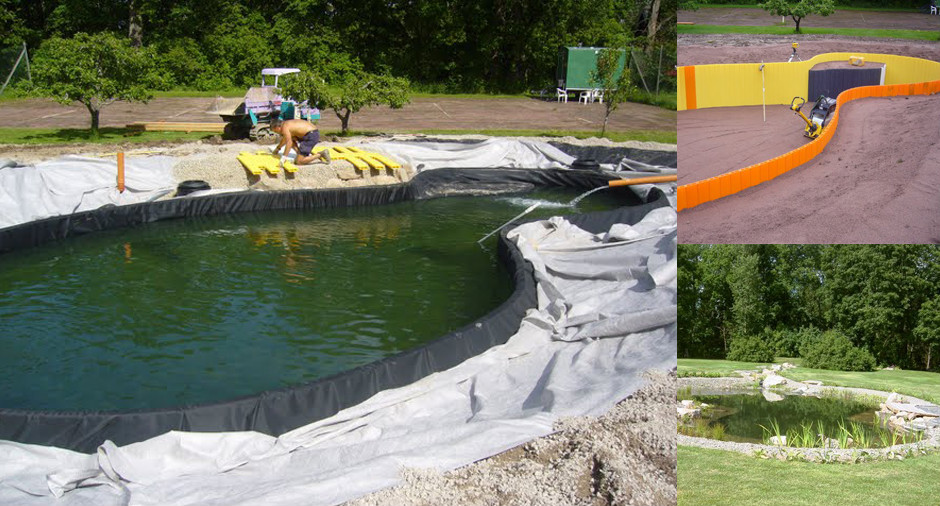 Factory price high density polyethylene woven fabric pond for Pond liner material