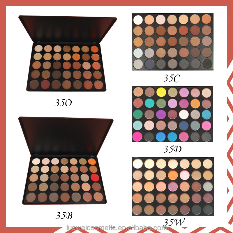 35O - 35 Color Nature Glow Morphe Eyeshadow Palette