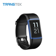 Fashionable Bluetooth Heart Rate Monitor Smart Watch via USB Charging
