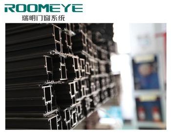Roomeye cn aluminium composiet hout profielen frames voor luxe